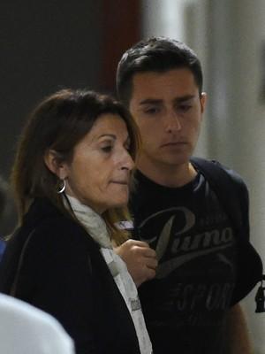 Pais de Jules Bianchi, Philippe e Christine acompanham estado de saúde do filho em hospital no Japão (Foto: AFP)