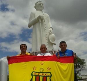 Flávio Araújo - técnico Sampaio - padre cícero (Foto: Divulgação / site do Sampaio)