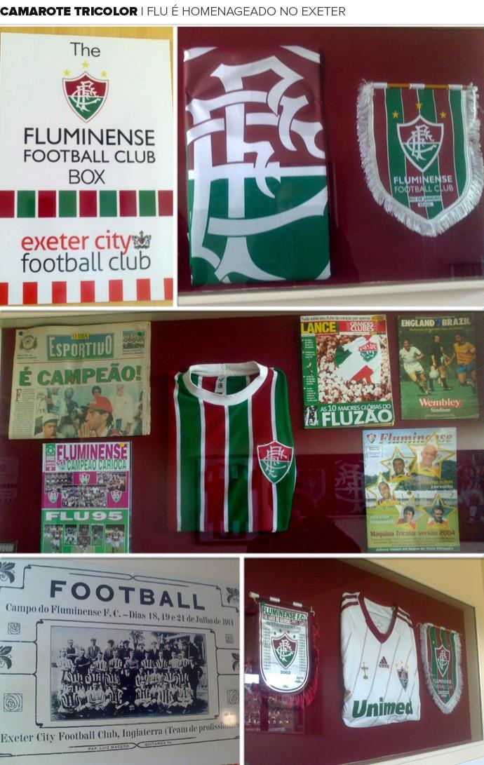 Mosaico Exeter Fluminense (Foto: Felipe Schmidt)