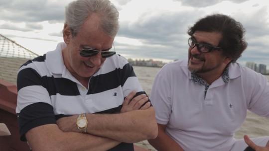 Mário Barbará e Chico Saratt lançam CD e DVD 'Desgarrados'; assista ao making of da gravação