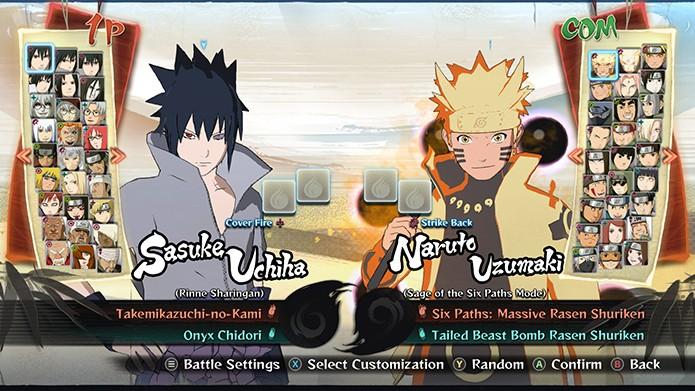 O jogo possui muitos personagens (Foto: Reprodução/ Bernardo Dabul)