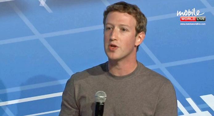 Mark Zuckerberg fala de seu projeto, o internet.org (Foto: Reprodução / MWC)
