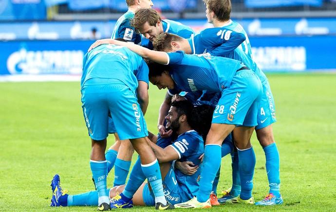 Hulk zenit gol Krasnodar (Foto: Reprodução / Facebook)