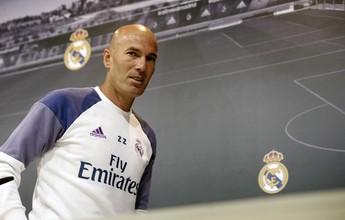 Zidane cobra vitória do Real Madrid após três tropeços consecutivos