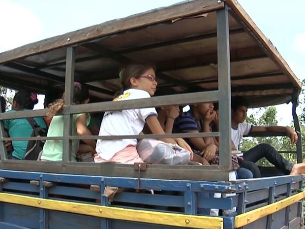 Resultado de imagem para transporte escolar no maranhão