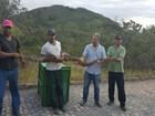 Zelador encontra jiboia de 2,4 metros  dentro de casa em cidade da Bahia
