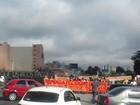 Protesto de estudantes da UFPR causa lentidão na BR-277 em Curitiba