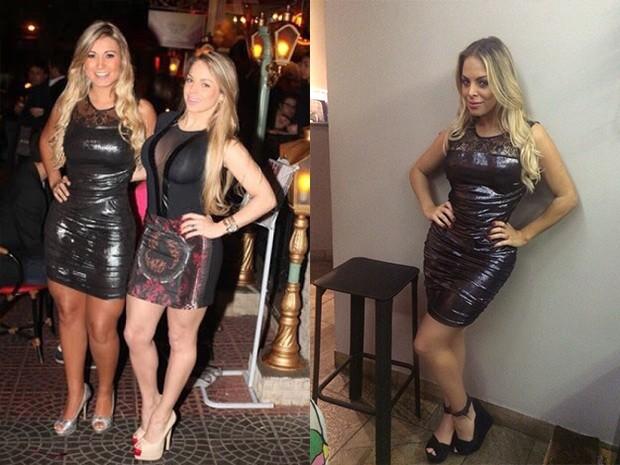 Andressa Urach e Jessica Lopes (Foto: Reprodução)