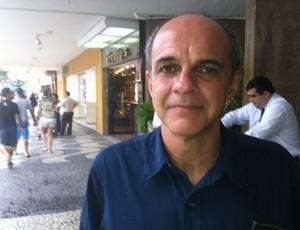 Eduardo Bandeira de Mello, candidato da chapa azul no Flamengo (Foto: Vicente Seda / GLOBOESPORTE.COM)