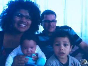 Família de baiano de Vitória da Conquista vive no Nepal (Foto: Reprodução/TV Sudoeste)