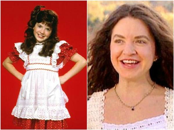 Tiffany Brissette em 1986 e 2009 (Foto: Divulgação)