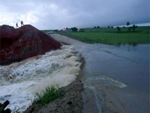 DER decidiu interditar a PB-054 após as fortes chuvas dos últimos dias (Foto: Divulgação/SecomPB)