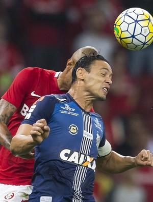Internacional x Santos Ricardo Oliveira