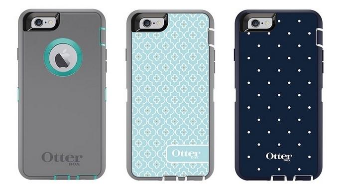 Cases da coleção Defender Series para iPhone 6 (Foto: Divulgação/OtterBox)