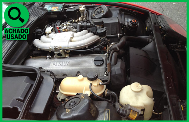 Motor 2.5 do BMW Z1 (Foto: Reprodução)