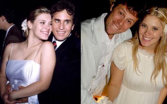A atriz teve dois casamentos: o anterior com o também ator Marcos Frota e o atual, com o diretor Tiago Worcman  (Foto: Reprodução)