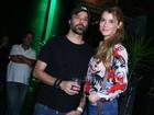 Alinne Moraes curte show com o marido, Mauro Lima, no Rio