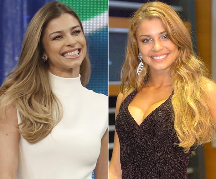 Grazi Massafera está completando 10 anos de carreira de atriz (Foto: Fábio Rocha / Gshow / Renato Rocha Miranda / TV Globo)