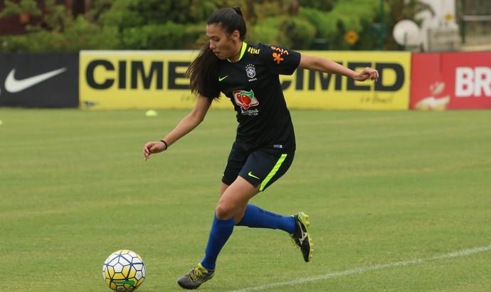 fa75364107 Jogadora potiguar vive sonho ao treinar com a seleção brasileira
