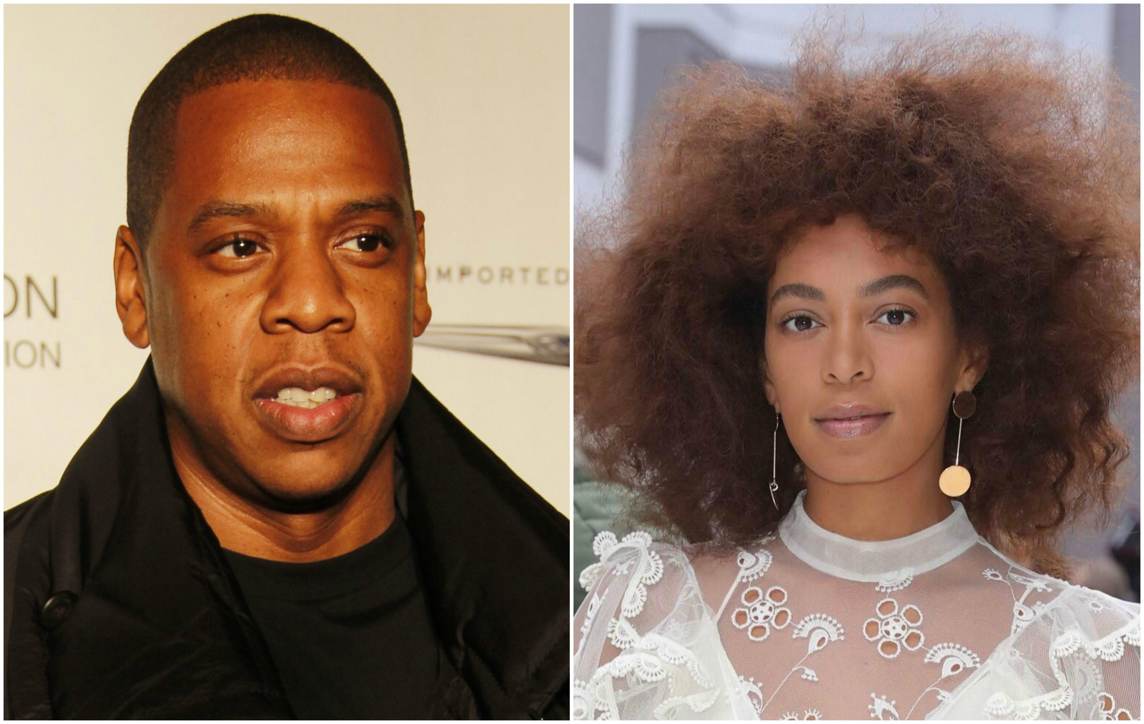 Jay-Z minimizou a briga com a cunhada, Solange Knowles, trs anos atrs (Foto: Reproduo/Instagram)