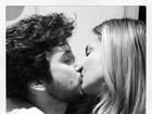 Márcio Pedreira ganha beijão de Claudia Leitte
