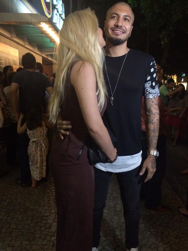 Aline e Fernando (Foto: EGO)