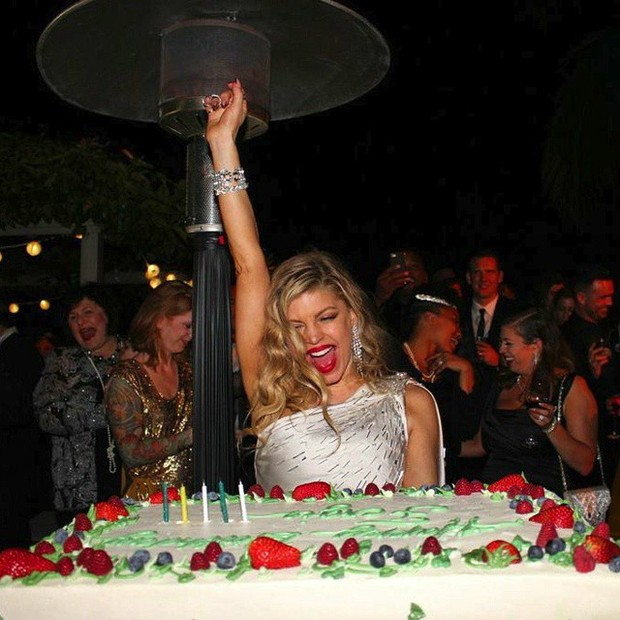 Fergie comemora 40 anos (Foto: Instagram/ Reprodução)
