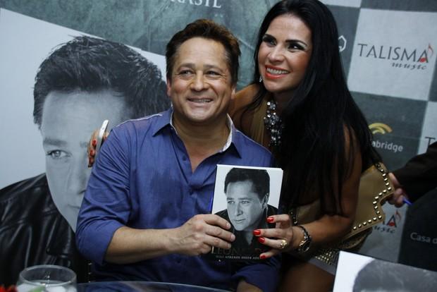Solange Gomes e Leonardo (Foto: Graça Paes/ Photo Rio News)