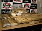 Polícia apreende 60 kg de maconha escondidos em obra em Ribeirão, SP