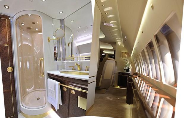 Conheça o exclusivo e luxuoso avião usado pelo príncipe Charles