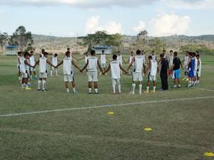 treino porto-pe, abril de 2015 (Foto: Lafaete Vaz / GloboEsporte.com)