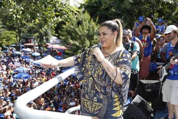 Preta Gil dá show em bloco de rua (Foto: Divulgação)
