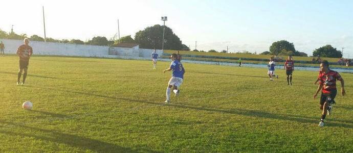 Lucena 8 x 0 Campinense, amistoso no Estádio Toscanão (Foto: Divulgação / Lucena)
