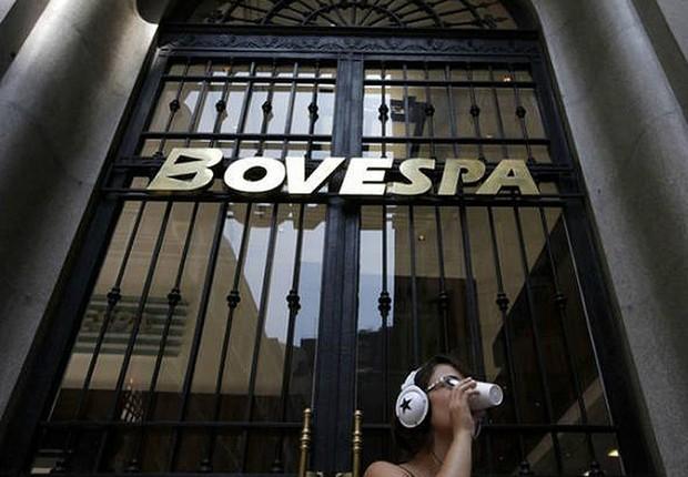 Sede da Bovespa em São Paulo ; mercado financeira ; Bolsa de Valores de São Paulo ;  (Foto: Ueslei Marcelino/Reuters)