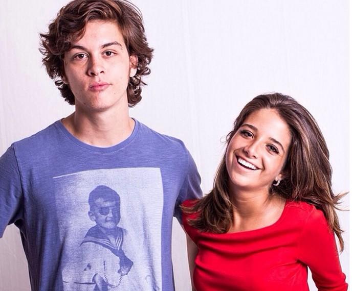 Ele e a atriz Ana Vitória Bastos estão juntos há dois anos e quatro meses (Foto: Arquivo Pessoal)