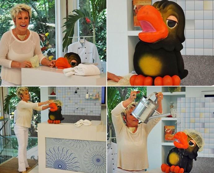 Aniversário do Louro José (Foto: TV Globo)
