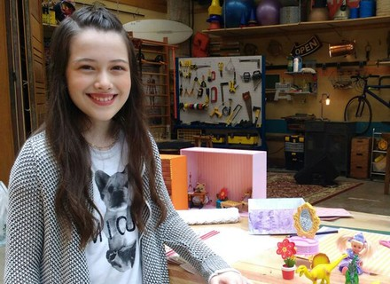 Blogueira mirim ensina a fazer nicho criativo para guardar brinquedos e decorar