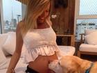 Luisa Mell está gravida de um menino: 'Tive muito enjoo'