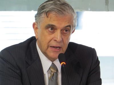 Presidente do Atlético-PR, Mario Celso Petraglia (Foto: Fernando Freire)