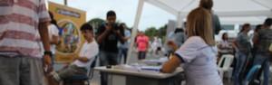 Parcerias fazem atendimento médico e social na sexta edição do GP Teresina Corrida de Rua (Abdias Bideh/GloboEsporte.com)