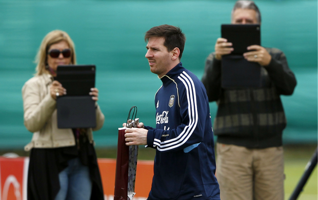 Lionel Messi Argentina (Foto: Reuters)