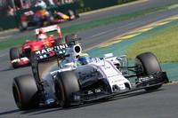 Felipe Massa estava na frente de Sebastian Vettel no começo do GP da Austrália (Foto: EFE)