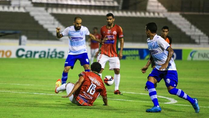 Daniel Costa, meia do CSA (Foto: Ailton Cruz/Gazeta de Alagoas)