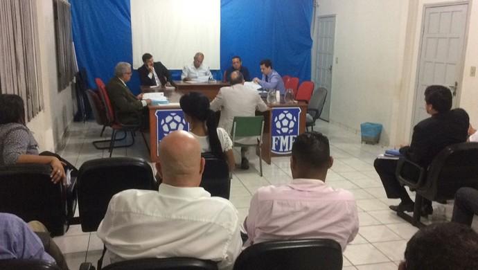 Tribunal de Justiça Desportiva de Mato Grosso, TJD-MT (Foto: Lucas de Senna/TVCA)
