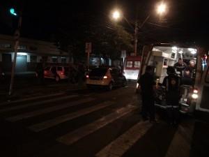 Local onde homens brigaram em Piracicaba (Foto: Edijan Del Santo/EPTV)