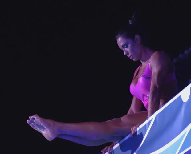 Gracyanne Barbosa segue na competição (Foto: TV Globo)