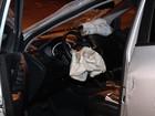 Jogador do Goiás sai ileso de acidente com táxi no Setor Bueno, em Goiânia