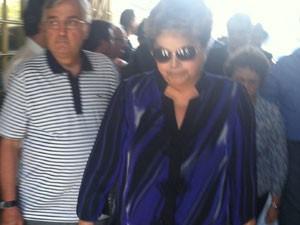 A presidente Dilma Rousseff (Foto: Cintia Acayaba/G1)
