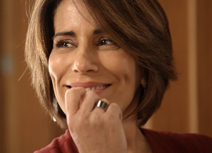 Beatriz planeja contra Evandro (Foto: TV Globo)