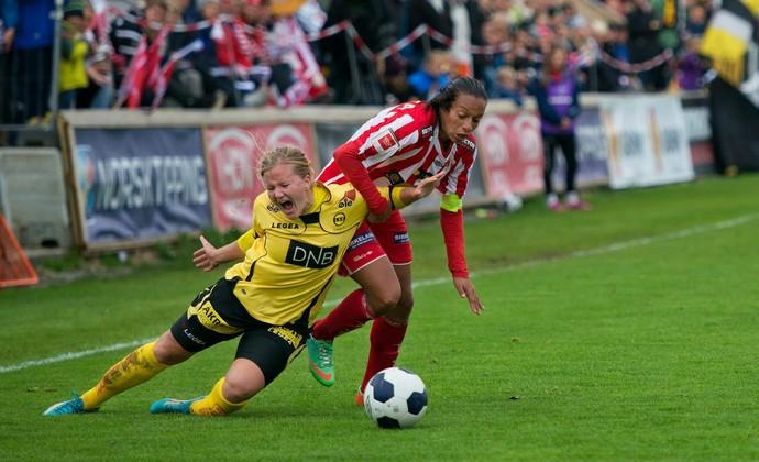 Rosana futebol feminino Noruega Avaldsnes (Foto: Ida Kristin Vollum/ Avaldsnes Viking Queens)